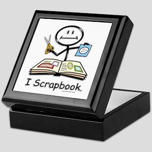 BusyBodies Scrapbooking Keepsake Box