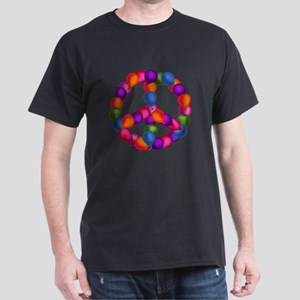 Balloon Peace Sign Dark T-Shirt