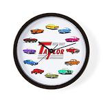 Personalized Auto Body Wall Clock