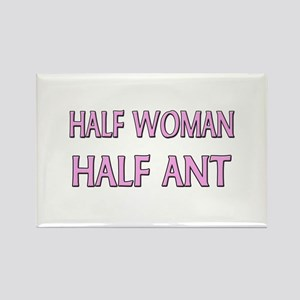 Half Woman Half Ant Rectangle Magnet