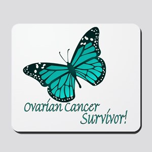 Ovarian Cancer Survivor Mousepad