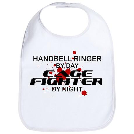 Handbell Ringer Cage Fighter by Night Bib