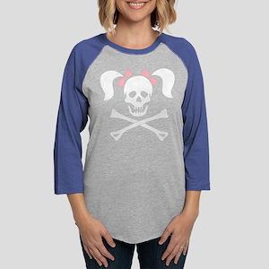 Girl Skull With P Long Sleeve T-Shirt