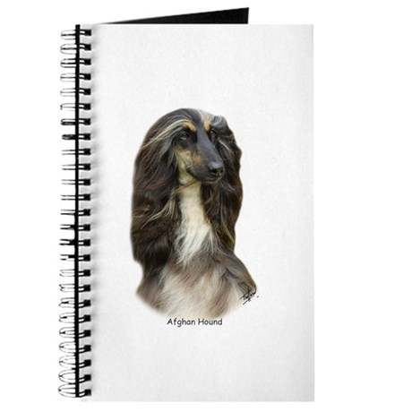 Afghan Hound 9J31D-06 Journal