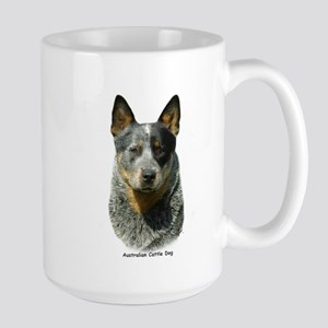 Australian Cattle Dog 9F061D-04 Large Mug