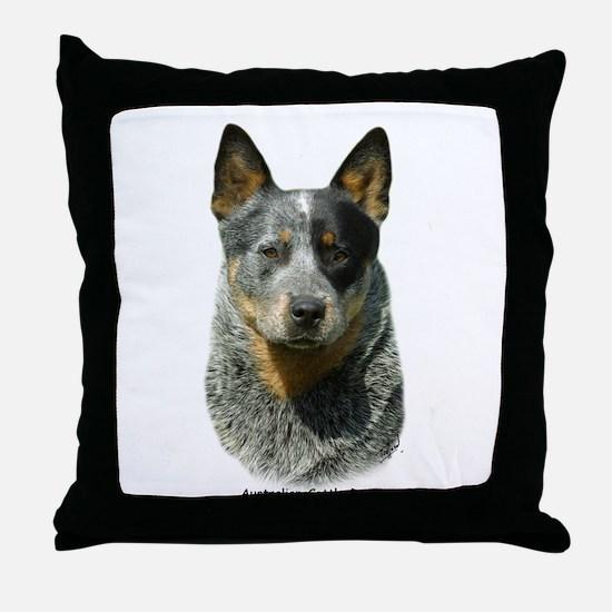 Australian Cattle Dog 9F061D-04 Throw Pillow