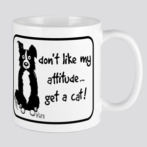 Border Collie Attitude Mug