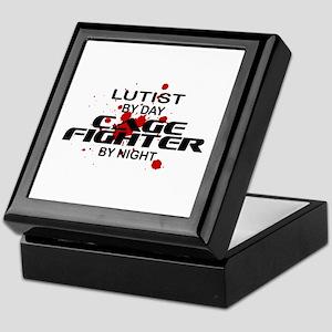 Lutist Cage Fighter by Night Keepsake Box