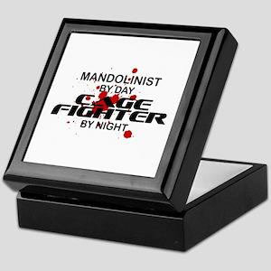 Mandolinist Cage Fighter by Night Keepsake Box