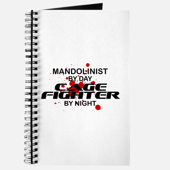 Mandolinist Cage Fighter by Night Journal