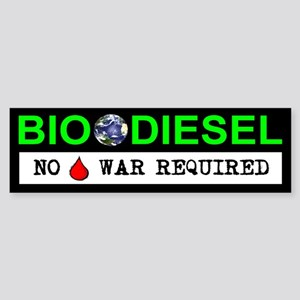 BIODIESEL Sticker (Bumper)