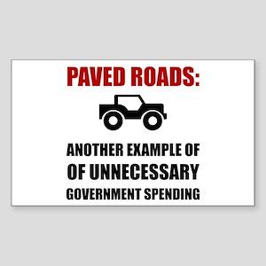 Paved Road Sticker