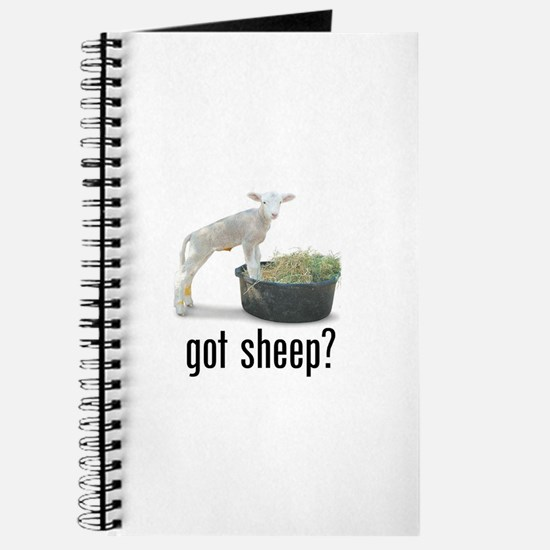 Funny Baby lambs Journal