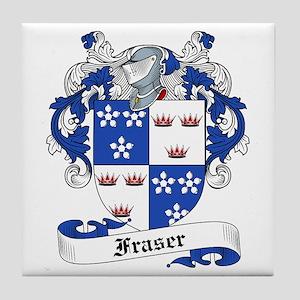 Fraser Family Crest Tile Coaster