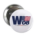 """""""W '08"""" Button (10 pack)"""