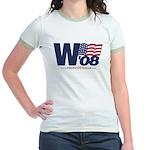 """""""W '08"""" Jr. Ringer T-Shirt"""