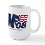 """""""W '08"""" Large Mug"""
