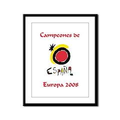 Campeones 2008 Framed Panel Print
