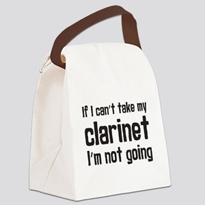 Take My Clarinet Canvas Lunch Bag