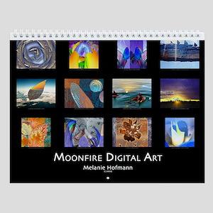 Moonfire Digital Art Wall Calendar