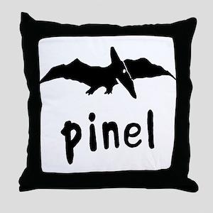 Pinel Logo Throw Pillow