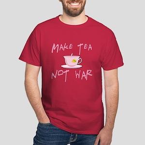 Make Tea not War Dark T-Shirt