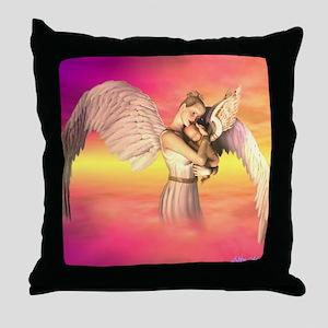 Motherhood Throw Pillow