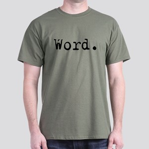 Word. Dark T-Shirt