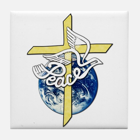 World Peace Tile Coaster
