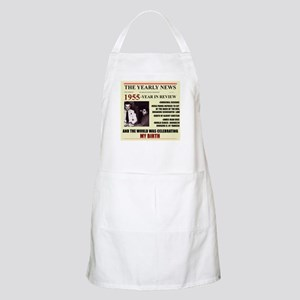 born in 1955birthday gift BBQ Apron