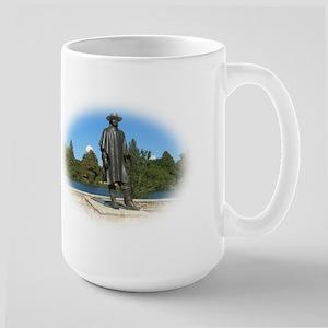 Stevie Ray Vaugn Austin, Texas Large Mug