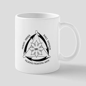 PTK White Large Mugs