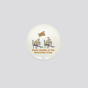 Proud Detention Member Mini Button