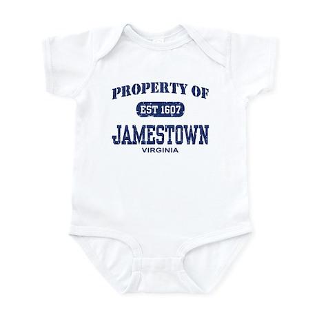 Property of Jamestown Infant Bodysuit
