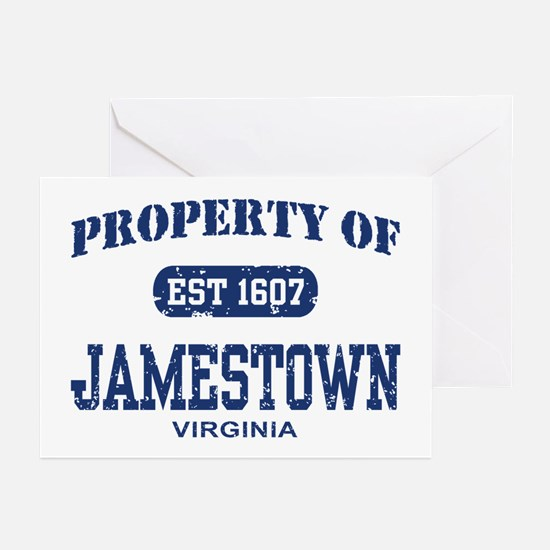 Property of Jamestown Greeting Cards (Pk of 10)