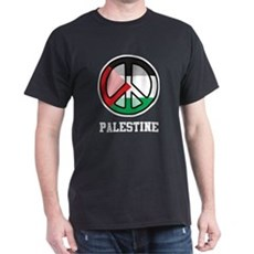Peace In Palestine Dark T-Shirt