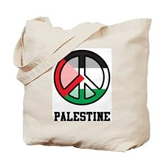 Peace In Palestine Tote Bag