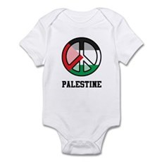 Peace In Palestine Infant Bodysuit