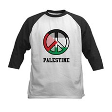 Peace In Palestine Kids Baseball Jersey