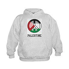Peace In Palestine Kids Hoodie
