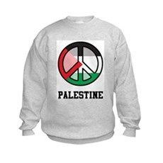 Peace In Palestine Kids Sweatshirt