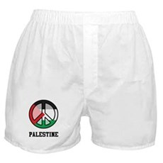 Peace In Palestine Boxer Shorts