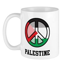 Peace In Palestine Mug