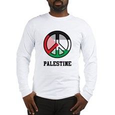 Peace In Palestine Long Sleeve T-Shirt