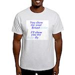 Show Me Ash Grey T-Shirt