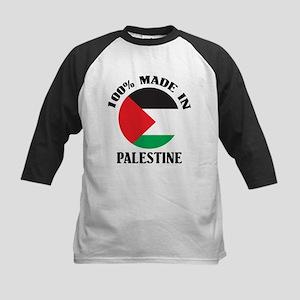 100% Made In Palestine Kids Baseball Jersey