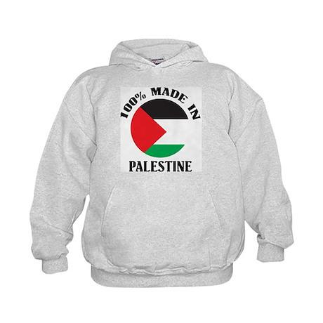 100% Made In Palestine Kids Hoodie