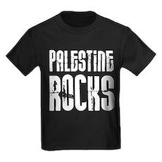 Palestine Rocks Kids Dark T-Shirt