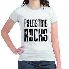 Palestine Rocks Jr. Ringer T-Shirt
