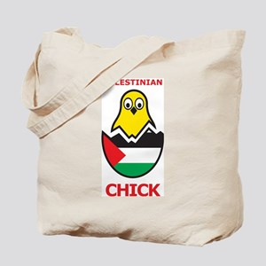 Palestinian Chick Tote Bag